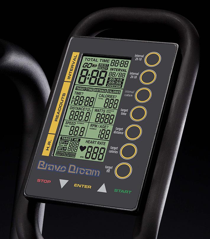 air bike風扇車電子錶