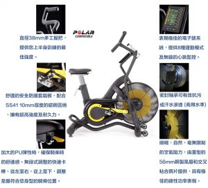 air bike風扇車