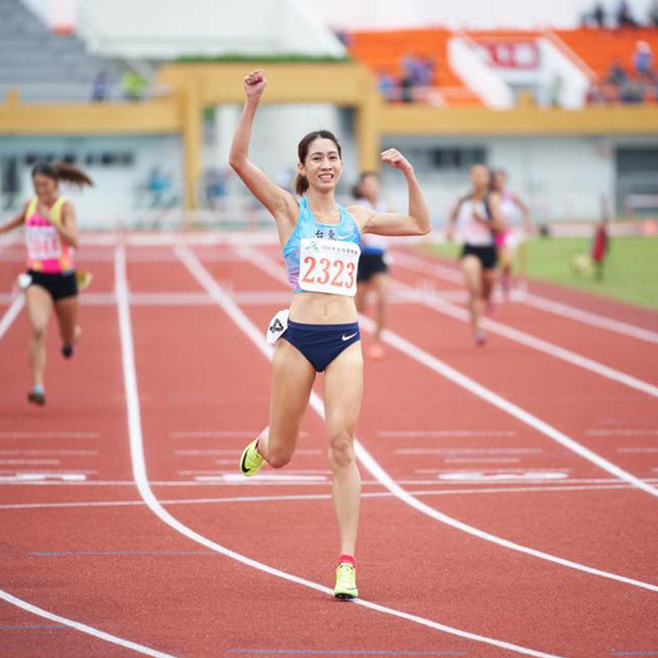 羅佩琳跑步獲勝的喜悅